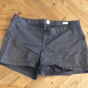 Gap Maternity Shorts grey
